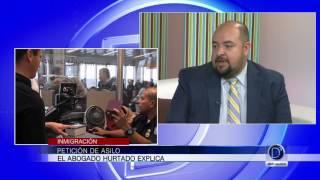 El abogado Pablo Hurtado explica el proceso de petición de asilo