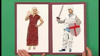 getlinkyoutube.com-Mister Maker   Knight & Princess Picture    Frame It!