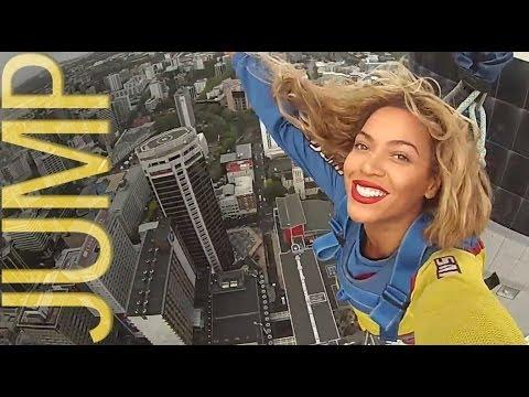 Beyonce Auckland Sky Tower Walk
