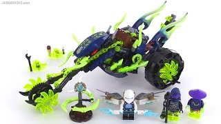 getlinkyoutube.com-LEGO Ninjago Chain Cycle Ambush review! set 70730