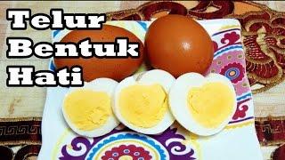 getlinkyoutube.com-Cara Membuat Telur Rebus Bentuk Hati