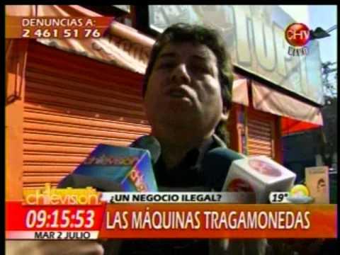 Reportaje Clausura Maquinas Tragamonedas  - La Mañana de Chievisión PARTE 1