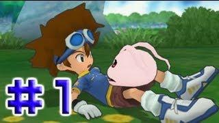 getlinkyoutube.com-[PSP] Digimon Adventure Walkthrough Part 1 - (Enter the Digital World - Boss Kuwagamon)