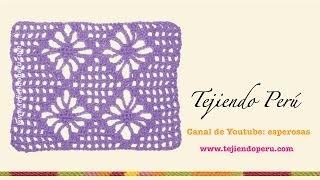 getlinkyoutube.com-Punto araña tejido en crochet