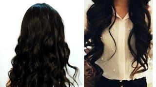 getlinkyoutube.com-Peinar extensiones de cabello sin maltratarlas