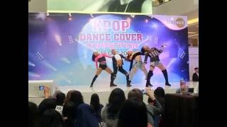 161016 Boys Bitches (BLACKPINK Dance Cover) at KPOP DANCE COVER COMPETITION 2016 Living World