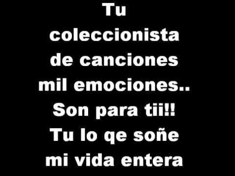 escuchar musica camila coleccionista de canciones:
