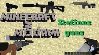 getlinkyoutube.com-Minecraft z modami #80 - 3D Stefinus guns mod - Pistolety 3d!