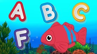 ABC Phonetics Song + Nursery Rhymes Baby Songs - Kindergarten Poems For Children by Fun For Kids TV width=
