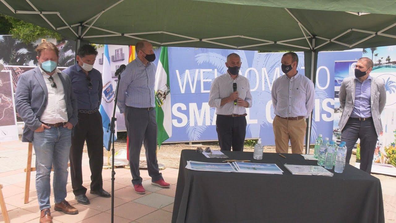 Convenio para mejorar el vial de Martagina y revalorizar la zona