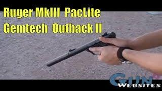 getlinkyoutube.com-Shooting Suppressed .22 Pistol