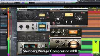 getlinkyoutube.com-Comparison of 1176 compressor plug-ins on drums