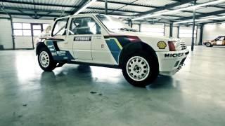 getlinkyoutube.com-1984 Peugeot 205 Turbo 16 Evolution 1 Gr. B, voiture d'usine