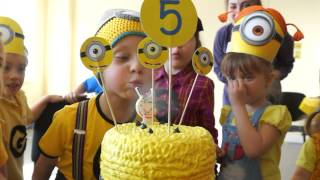 getlinkyoutube.com-Minion Madness Party