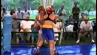 getlinkyoutube.com-Stephanie Moon boxing in Hungary