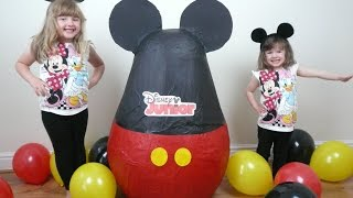 getlinkyoutube.com-Disney Junior Videos SUPER GIANT Surprise Egg The Worlds Biggest Ever Mickey Clubhouse Doc McStuffin