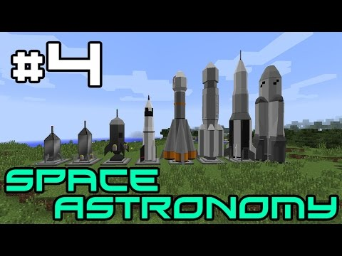 Minecraft Space Astronomy - Tinkering with Tools! #4