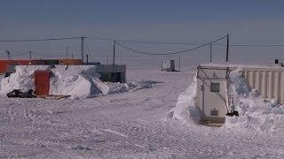 Massey Ferguson  Antarctica2 crew at Novo Runway