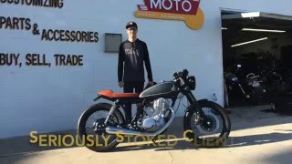 getlinkyoutube.com-2014 SR400 Yamaha Build Time Lapse - Best looking cafe of it's kind!