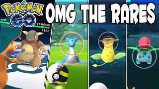 getlinkyoutube.com-INSANE!! KANGASKHAN vs CHARIZARD, Catching Lapras, Victreebel & More Rare Pokemon In Pokemon GO!!