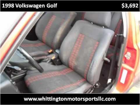 1998 Volkswagen Golf Used Cars Albuquerque NM