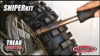 getlinkyoutube.com-Tread Doctor Knobby Cutting Tool & Sniper Head Video