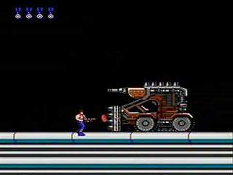 Contra Speed Run NES
