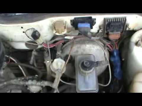 Двигатель работает с перебоями из-за вакуумного усилителя
