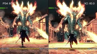 getlinkyoutube.com-[60fps] Devil May Cry 4 Special Edition: PS4 vs Xbox One Gameplay Frame-Rate Test