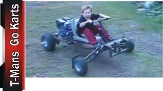getlinkyoutube.com-First Test Drive of the Go Kart