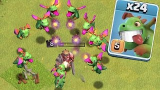getlinkyoutube.com-GET BLASTED!!🔸NEW BABY DRAGON EVENT!!🔸Clash of clans