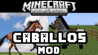 getlinkyoutube.com-Minecraft pe 0.12.1-caballos MOD Montables