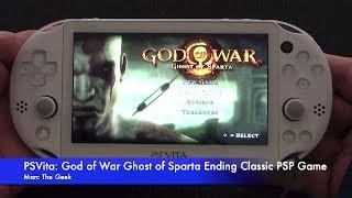 getlinkyoutube.com-Slim PSVita: God of War Ghost Of Sparta - Classic PSP Game