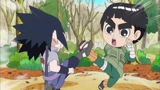 getlinkyoutube.com-Naruto SD - Rock Lee and Naruto VS Sasuke - AMV