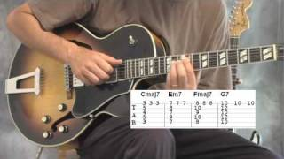 chord progressions and melodies