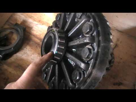 Форд Транзит шумит редуктор/замена подшипников.Ford Transit Noise reducer/bearing replacement