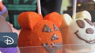 getlinkyoutube.com-DIY Halloween: How-To Make 'Witch Minnie' Candy Apples | Disney Parks
