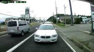 getlinkyoutube.com-急停止× 後ろは赤信号無視 DQN嬢BMW 松本市 国道19号線