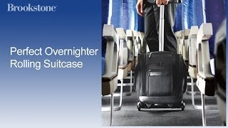 Perfect Overnighter Rolling Suitcase