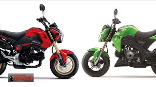 getlinkyoutube.com-MSX125 vs Z125 GPX Demon TNT135 ใครดีใครอยู่