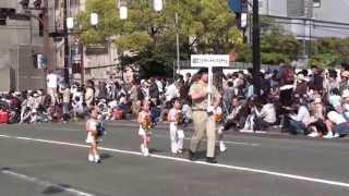 どんたく花のマーチングパレード2013 高校の部