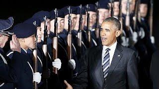 Obama en Berlín para discutir la ampliación de las sanciones a Rusia con sus aliados europeos