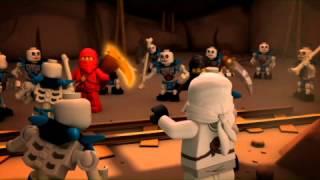 getlinkyoutube.com-LEGO Ninjago 2011 Сезон 1 Эпизод 2: Золотое оружие