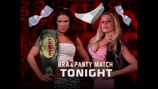 getlinkyoutube.com-WWF RAW 10.23.2000: Lita vs. Trish Stratus - Bra & Panty Match (HD)