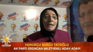 Burcu Tatoğlu AK Parti'den Aday Adayı Oldu