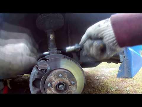 Замена шрус Subaru impreza