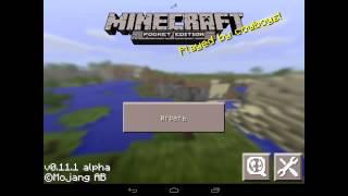 getlinkyoutube.com-Как создать сервер в Minecraft Pe 0.11.0 - 0.12.1 [3 способ]