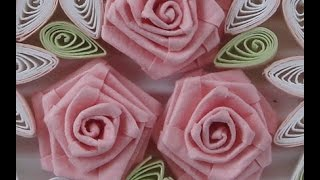 getlinkyoutube.com-How to Fold Rose- Paper Quilling
