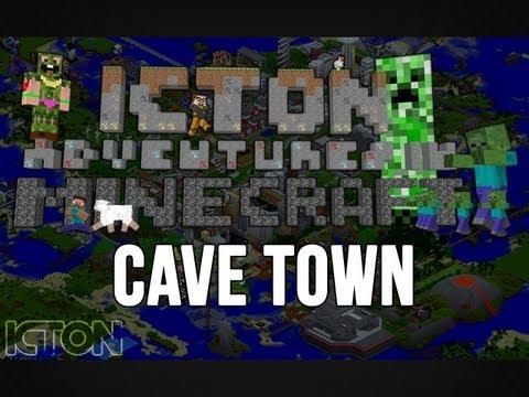 ICTON Adventures in Minecraft - Cave Town