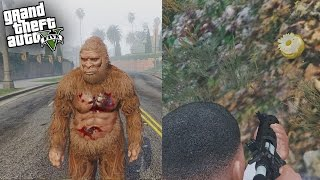getlinkyoutube.com-GTA 5 SECRET GOLDEN PEYOTE PLANT FOUND - HOW TO PLAY AS SASQUATCH! (GTA 5 Secret Bigfoot Peyote)
